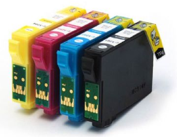 Epson T1285 Multipack Ink Cartridge Set - Refurbished